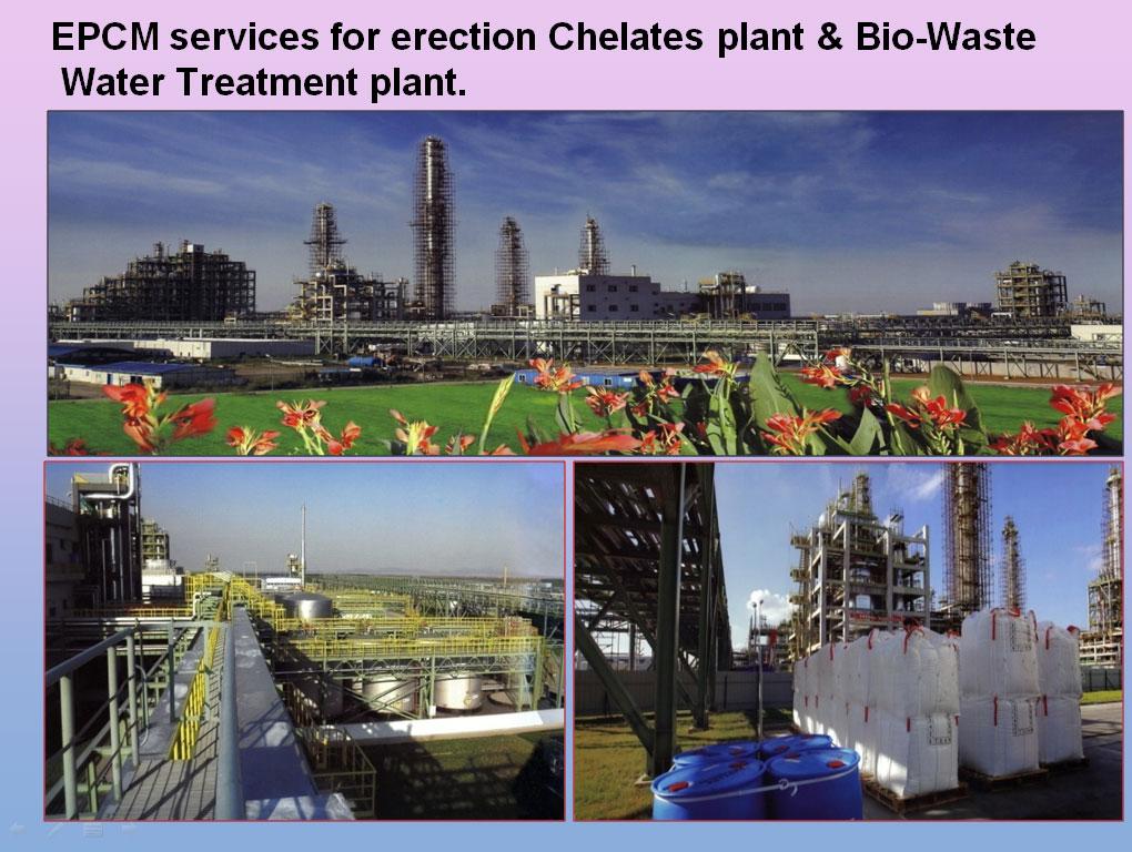 EPCM-services-for-erection-Chelates-plant-&-Bio-Waste-Water-Treatment-plant.